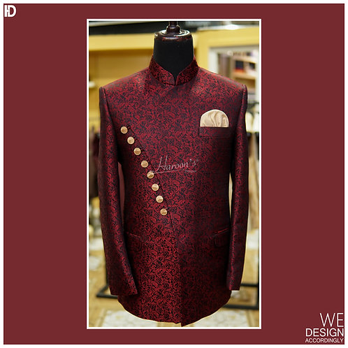 Prince Coat with Angle Cut