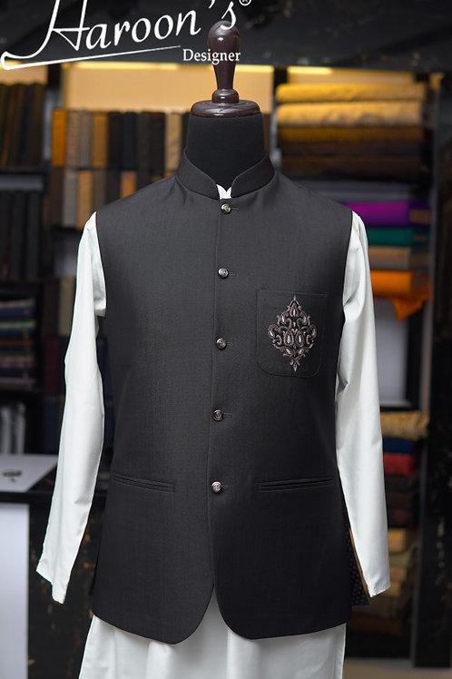 Charcoal Waist Coat