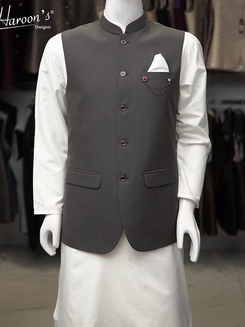 Grey Waist Coat