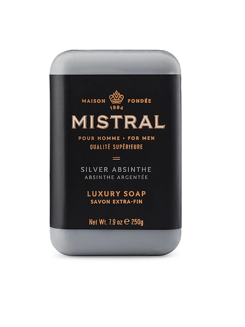 Men's Silver Absinthe Soap