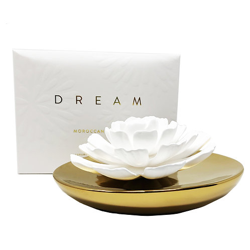 Dream Porcelain Diffuser-Moroccan Peony