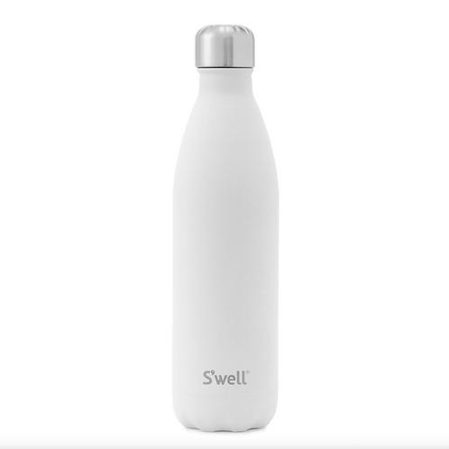 S'well 17 oz Bottle - White
