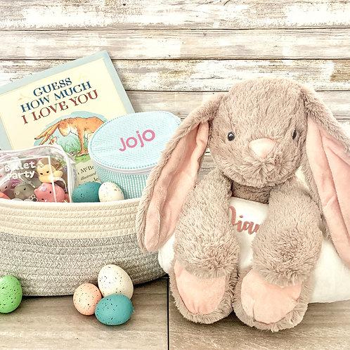 Bunny Bedtime Huggie Plush Set