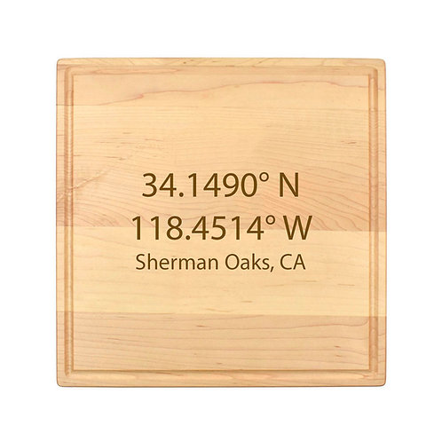 Personalized Square Cheese Board-010