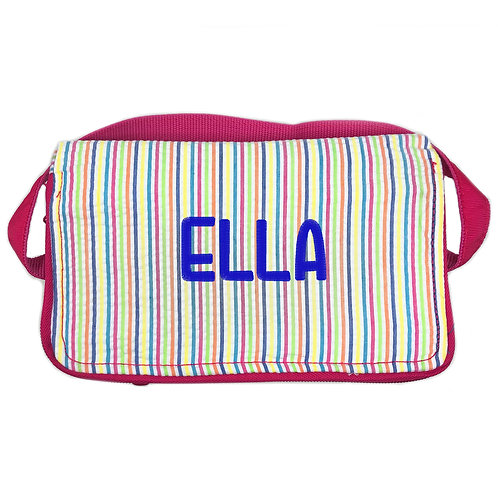 OH Mint Personalized Lunch Box-Rainbow