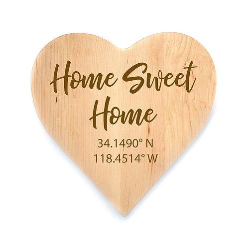 Personalized Maple Heart Board-014