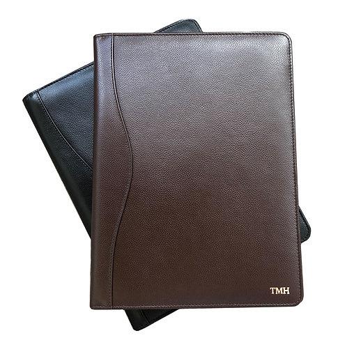 Personalized Leather Legal Portfolio