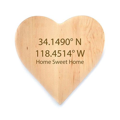 Personalized Maple Heart Board-013