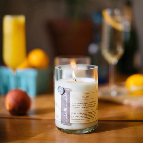 Bellini Re-Wined Candle