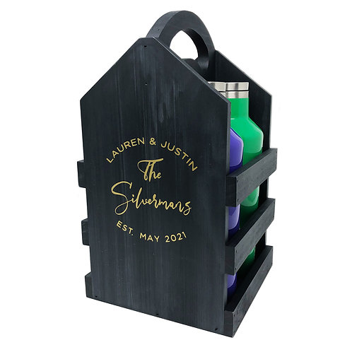 Personalized Bottle Caddy
