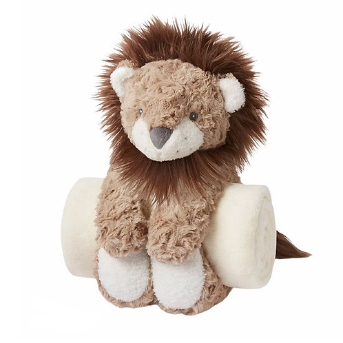 Lion Bedtime Huggie Plush Set