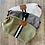 Thumbnail: Personalized Striped Canvas Toiletry Bag