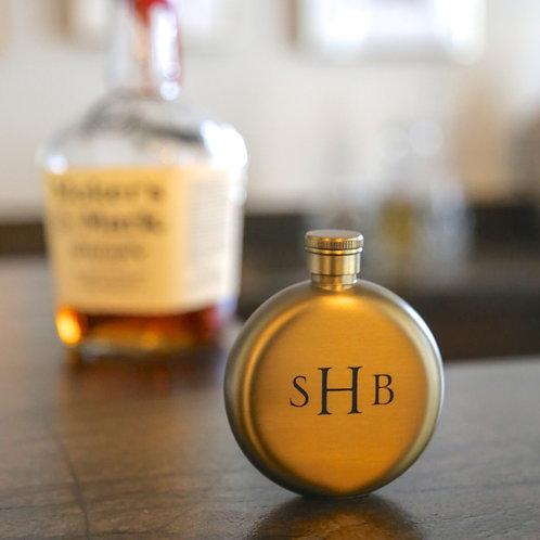 Matte Gold Flask
