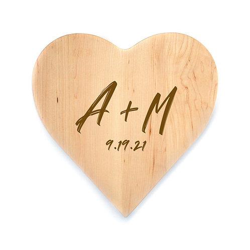 Personalized Maple Heart Board-005