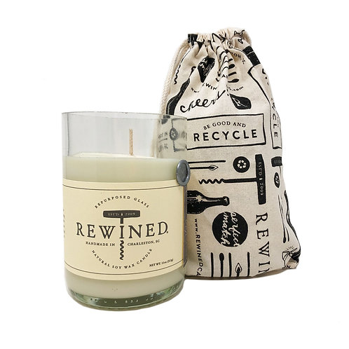 Re-Wined Candles