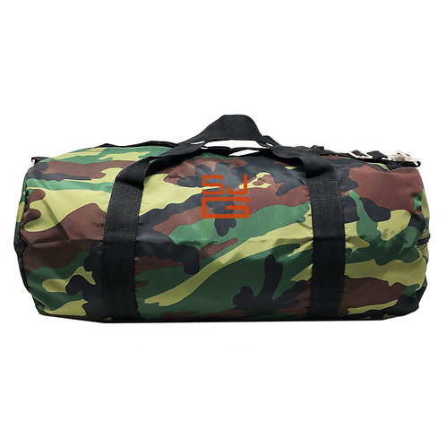 Oh Mint Personalized Large Duffle Bag-Green Camo