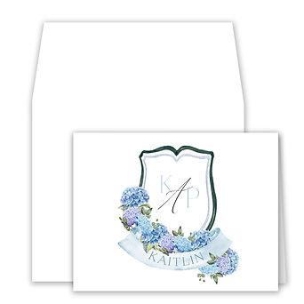 foldover cards on white hydrangea.jpg