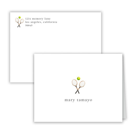 Personalized Notecards - Fitness