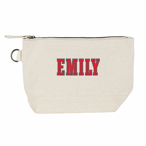 Personalized College Canvas Bag