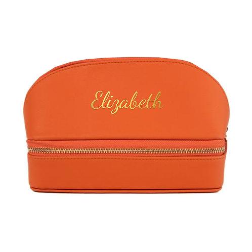 Travel Jewelry Organizer - Orange