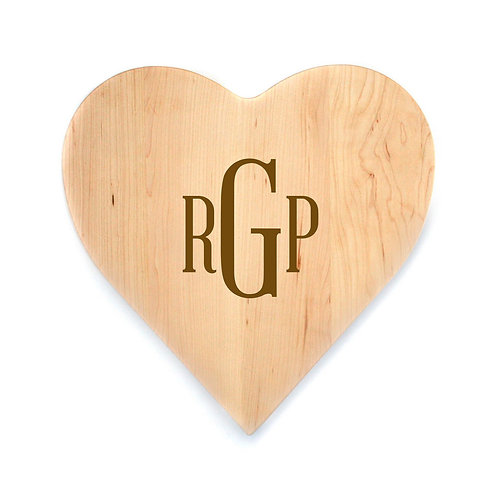 Personalized Maple Heart Board-012
