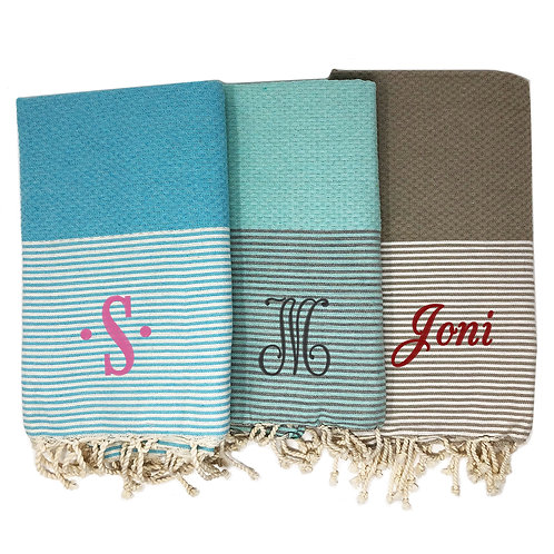 Personalized Turkish Honeycomb Towel-Single size
