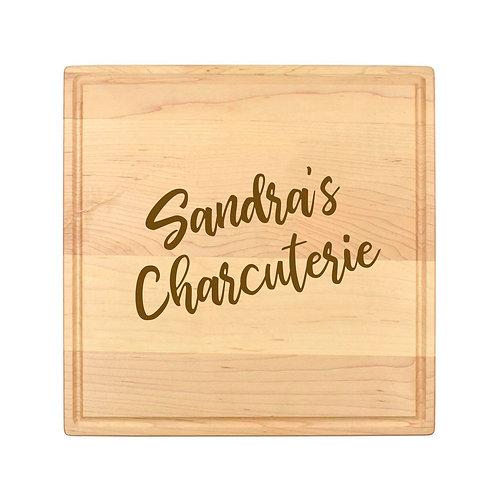 Personalized Square Cheese Board-015