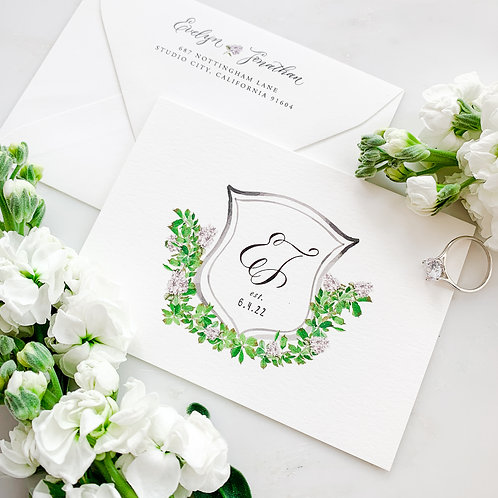 EVELYN THANK YOU CARDS