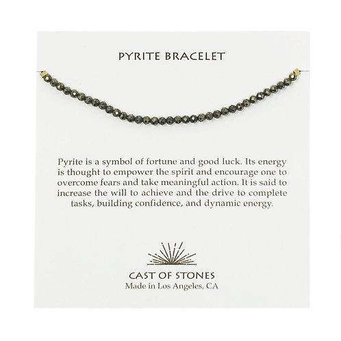 Pyrite Stone Bracelet