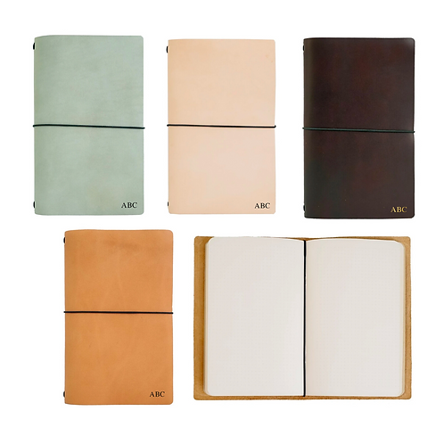Personalized Rustico Leather Journal
