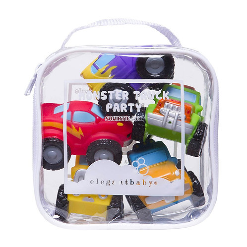 Truck Party Bath Squirt Toys