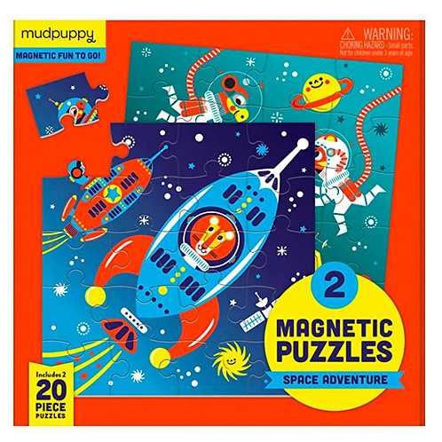 Space Adventure Magnetic Puzzles