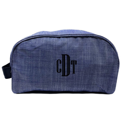 OH Mint Personalized Traveler-Navy Chambray