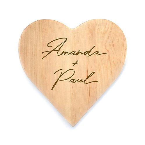 Personalized Maple Heart Board-011