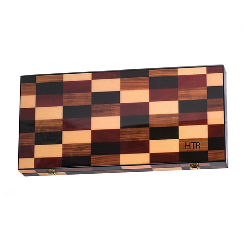 Personalized Backgammon Set
