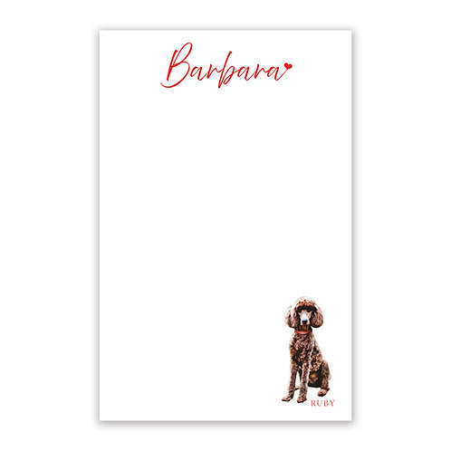 Personalized Pet Notepad