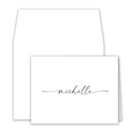 Set of 25 Notecards - D053