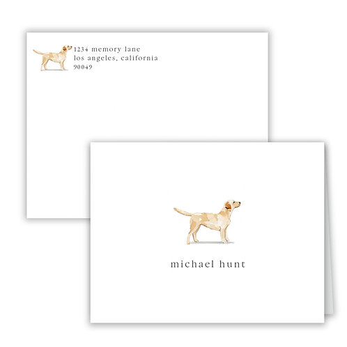 Personalized Notecards - Dogs