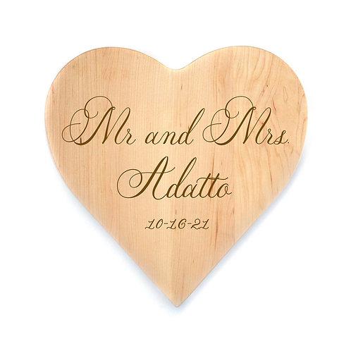 Personalized Maple Heart Board-001