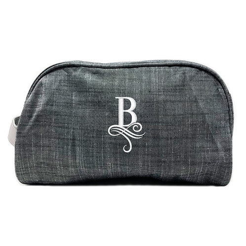 OH Mint Personalized Traveler-Grey Chambray