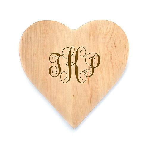 Personalized Maple Heart Board-006