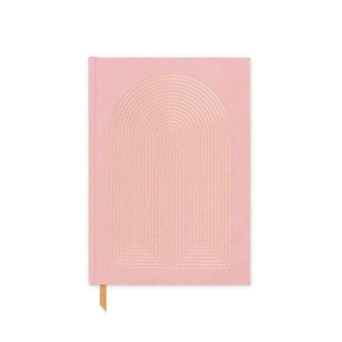 Radiant Rainbow Suede Cloth Journal