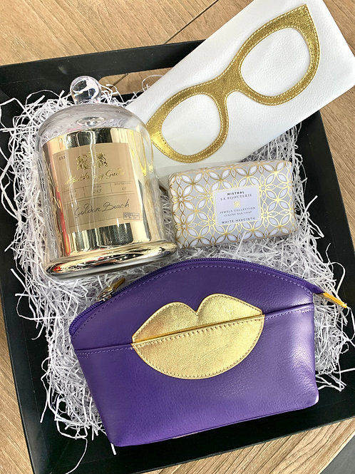 Purple & Gold Gift Set