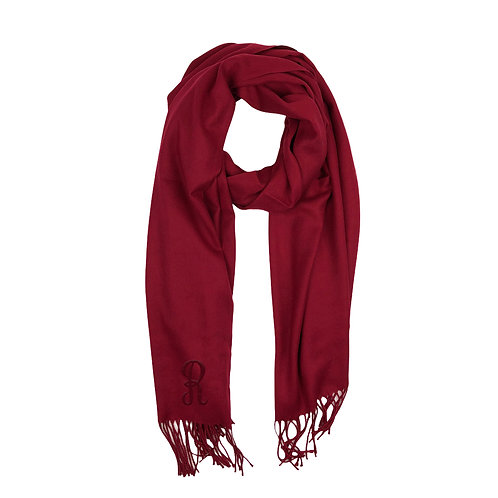 Cashmere Scarf - Crimson Red