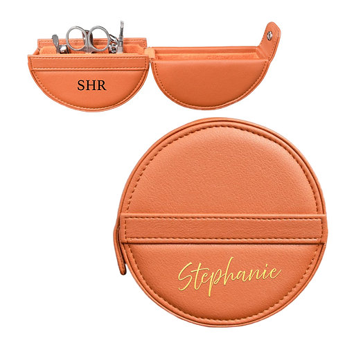 Round Manicure Set - Orange
