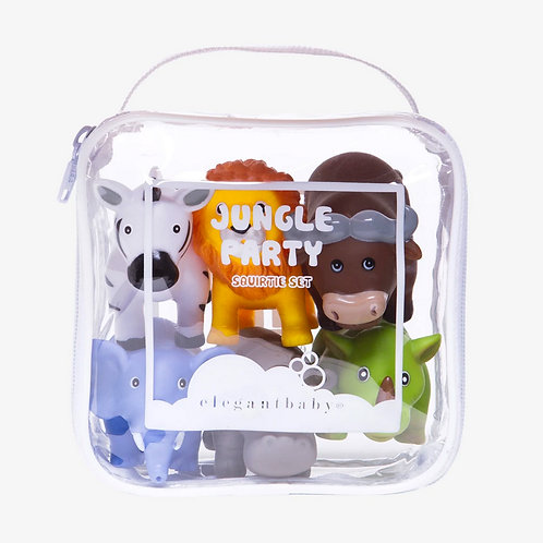 Jungle Party Bath Squirt Toys