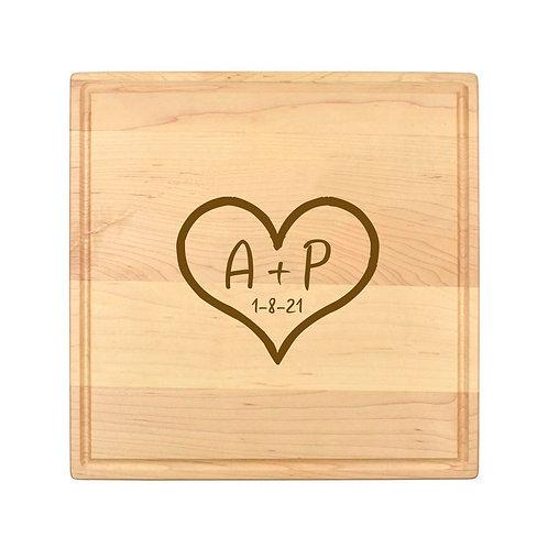 Personalized Square Cheese Board-008