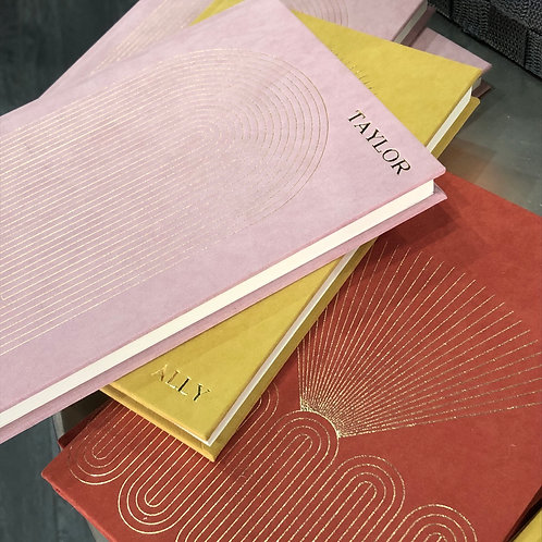 Personalized Cloth Covered Journal