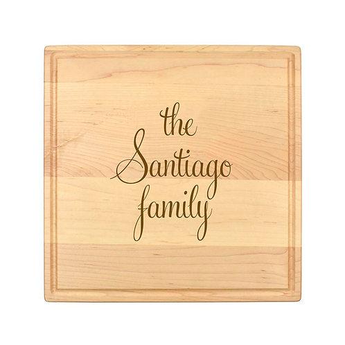 Personalized Square Cheese Board-009