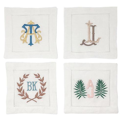 Personalized Linen Napkins - 2 Color